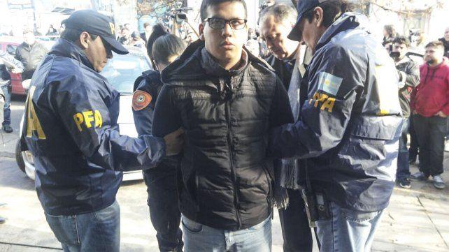 Monchi Cantero, jefe de Los Monos, fue procesado por el crimen de una adolescente
