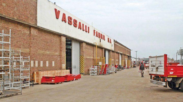 Emblemático establecimiento. La empresa Vassalli tiene 537 empleados