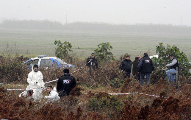 El hallazgo. Los restos fueron encontrados el viernes pasado por las autoridades policiales tras una denuncia al 911.