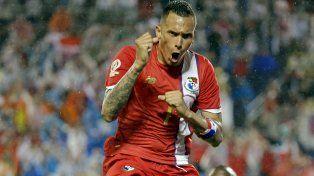 Con todas las ganas. Pérez le dio la victoria al conjunto panameño.