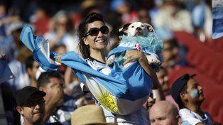 Argentina mostró su color en el Levis Stadium de Santa Clara.