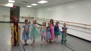 Una nena ganó un concurso de disfraces de princesas con un traje que sorprendió al jurado