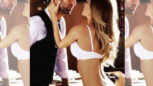 Más sexy que nunca Isabel Macedo posó sin rodeos en ropa interior con un apuesto joven