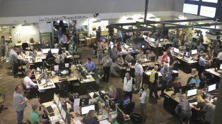 Uno de los centros de control de Cascadia Rising.
