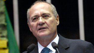 Aliados. Calheiros está primero en la línea de sucesión presidencial.