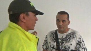 El fin. Wilmar Yuriano Valencia fue detenido en el aeropuerto de Cali. Se había instalado en la Argentina.