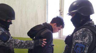 En Piñero. El líder de Los Monos llegó a la cárcel ayer
