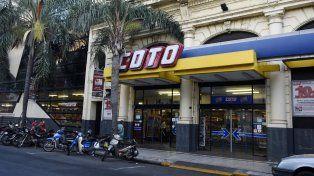 Urquiza al 1600. Uno de los locales que la firma posee en Rosario.