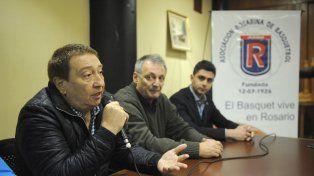 Visita oficial. Fabián Borro fue la figura central en la presentación del proyecto de cara a la próxima temporada.