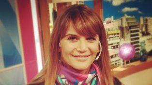 La panelista rosarina Amalia Granata habló de su embarazo hoy en Desayuno americano