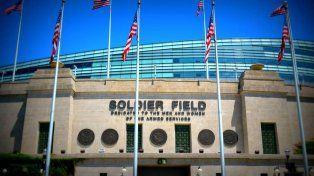 El Soldier Field de Chicago será escenario el viernes del choque de Argentina con Panamá.