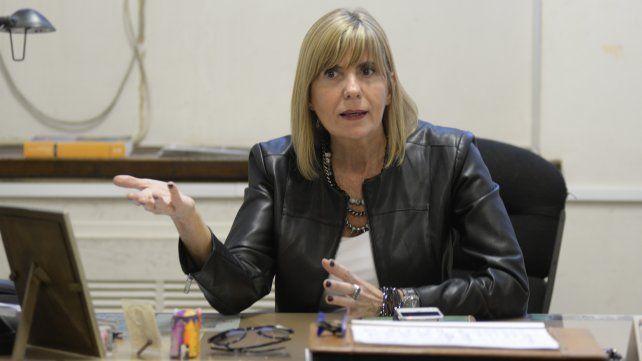 La jueza Alejandra Rodenas