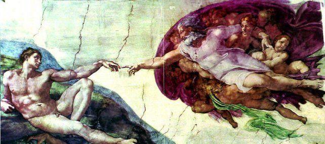 Sorprendente. La copia fue supervisada por los Museos Vaticanos.