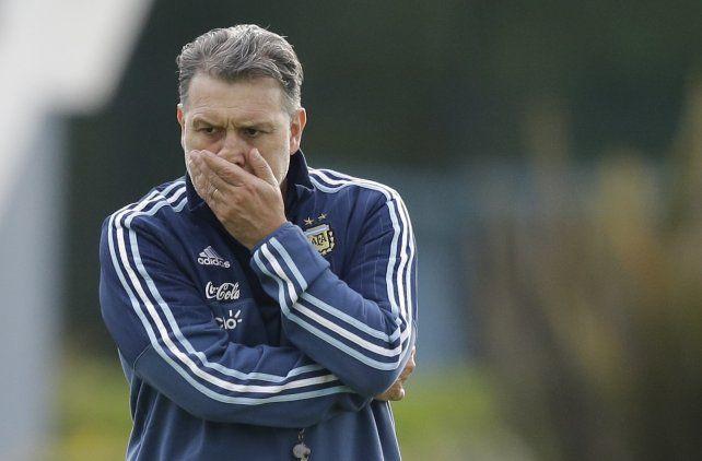 Lo pongo o no lo pongo. Martino piensa y repiensa la decisión de incluir a Lionel Messi en el partido ante los panameños.