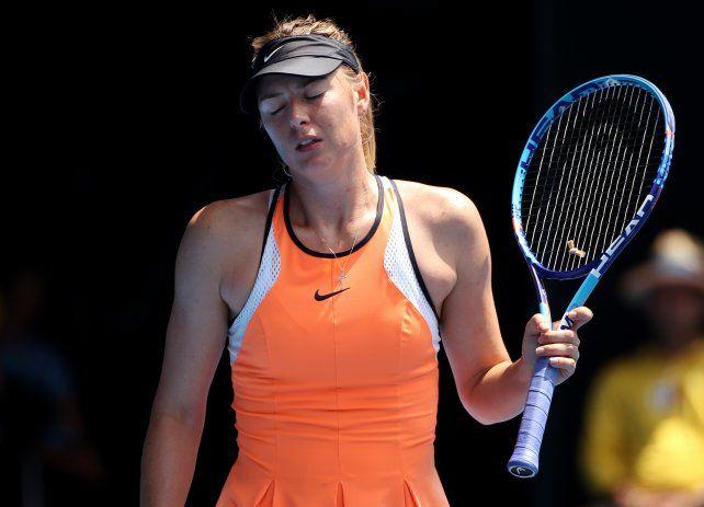 Dos años a Sharapova