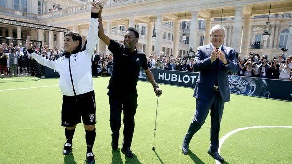 No más peleas, te lo prometo, la frase de Diego es su reencuentro con Pelé