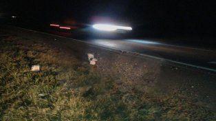 Apresan a dos jóvenes por colocar bloques de hormigón en la autopista Rosario Santa Fe