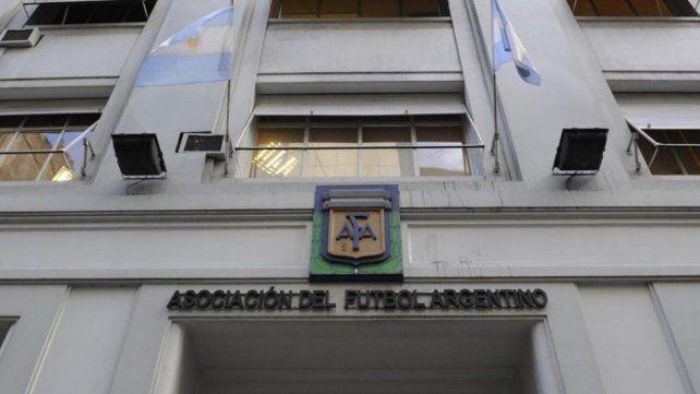 La sede de AFA en calle Viamonte