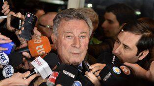 El presidente Segura aclaró que las elecciones en la AFA están suspendidas