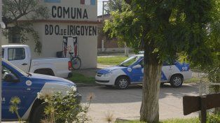 audaz asalto. La seguidillas de robos en un solo día sacudió a la tranquila comuna de Irigoyen.