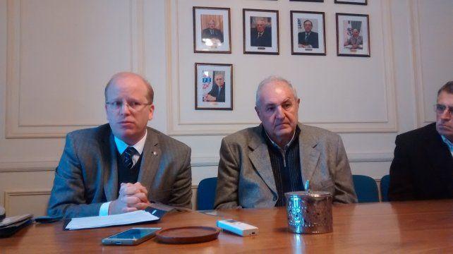 alerta. El ministro de Producción y el presidente de Fisfe advirtieron sobre una crisis grave en los próximos meses.