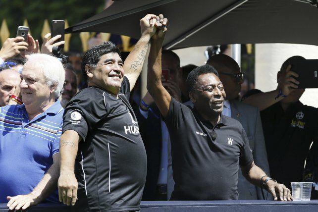 Inmortales. Maradona y Pelé