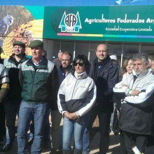 El senador nacional Omar Perotti durante su visita a AgroActiva.