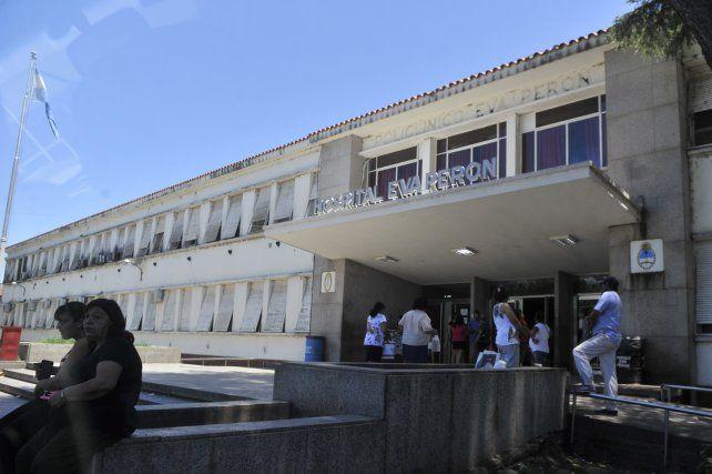 La víctima está internada en el Hospital Eva Perón de Granadero Baigorria.