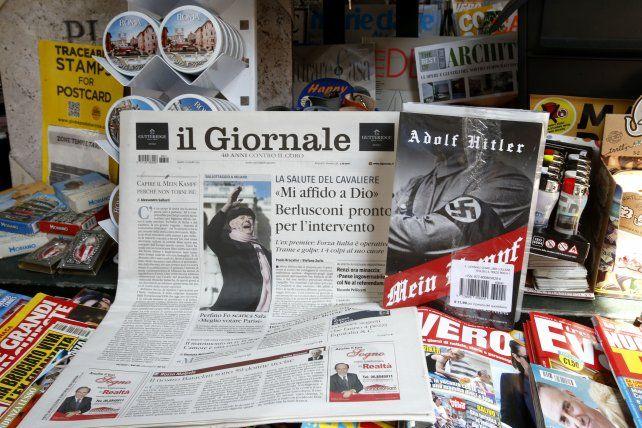 El libro que sustentó el Tercer Reich se repartía con la edición den Il Giornale.