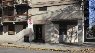 El edificio donde ocurrió la tragedia que enlutó también a la Facultad de Medicina.