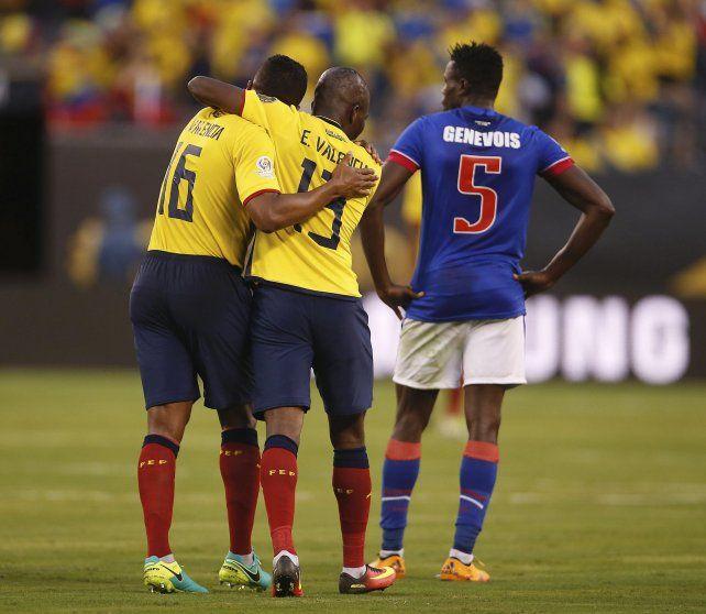 Los Valencia. Haití regresa sin haber sumados puntos en el torneo.