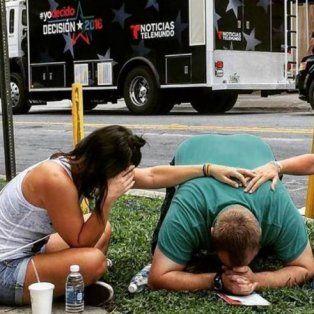 Los ciudadanos de Orlando se encuentran conmocionados tras la masacre.