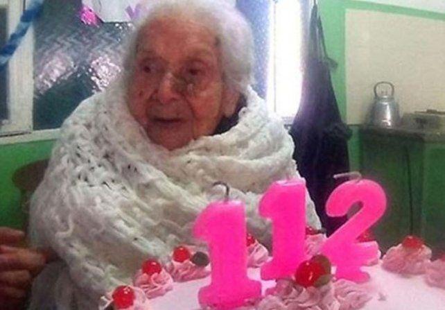 Una argentina tiene el privilegio de estar entre las 50 de mayor edad en el mundo
