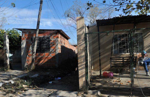 El pasillo de Lima al 2900 donde fue vejada y asesinada Guadalupe Medina.