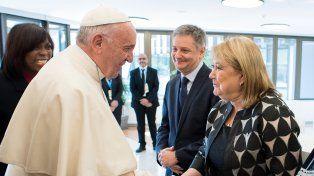 La canciller argentina Susana Malcorra habló con el Papa Francisco durante una hora en el Vaticano.