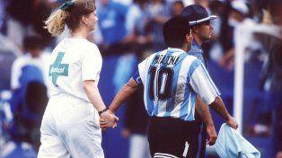 Maradona al fin se enteró qué hizo Grondona cuando le tocó el control antidoping en el Mundial 94