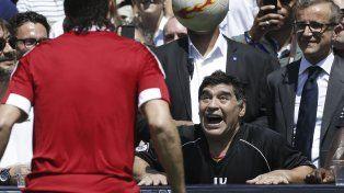 Maradona fue muy duro con la gestión de Macri