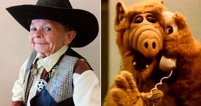 El actor se puso en la piel de Alf