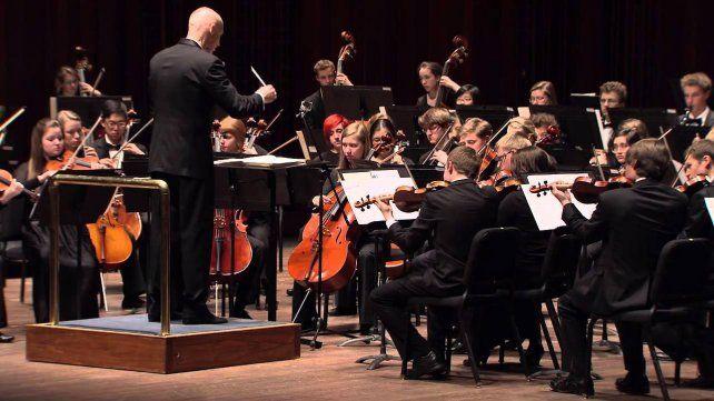 Talentosos. La orquesta creada en 1972 reúne a los mejores estudiantes.