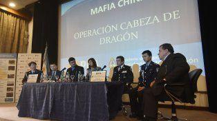 Anuncio. Conferencia de prensa de la ministra Bullrich junto al secretario Burzaco y la cúpula de la Federal.