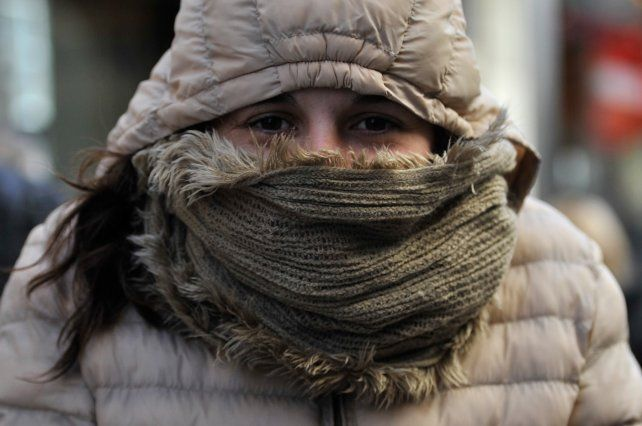 Las bajas temperaturas se hacen presente en la mañana rosarina.