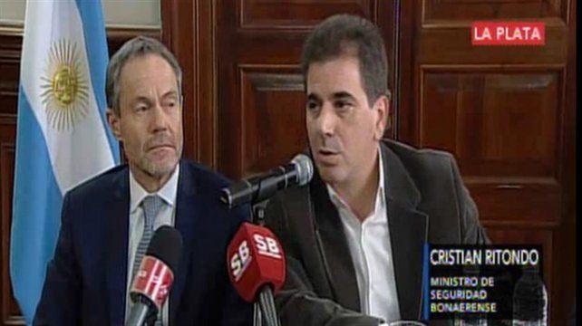 El ministro de Seguridad de Buenos Aires