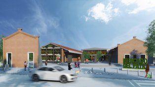conoce el proyecto del nuevo mercado municipal que funcionara en el patio de la madera