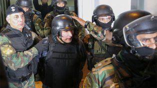 José López fue detenido con bolsos con millones de dólares.