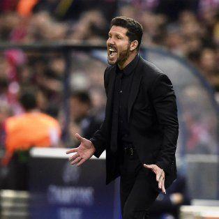 Simeone seguirá al frente de Atlético Madrid la próxima temporada.