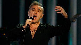 Rabioso. El ex The Smiths se despachó contra los candidatos presidenciales.