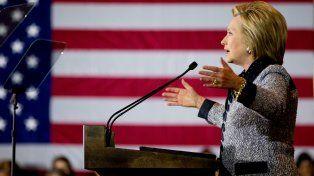 Clinton obtendría un 49 por ciento de los votos y Trump un 42 por ciento
