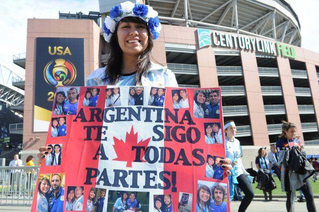 Una tarde de fútbol en Seattle, casi una postal calcada de un domingo argentino