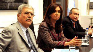 Jefe y jefa. López era el funcionario de confianza del ex ministro Julio De Vido.