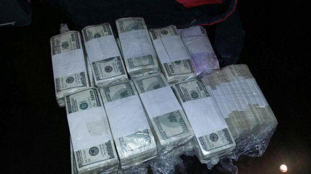 Fajos. Muchos de los billetes en poder de López estaban termosellados.